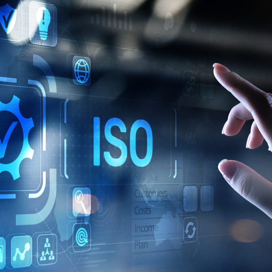 ISO standards quality control assurance warranty business technology concept